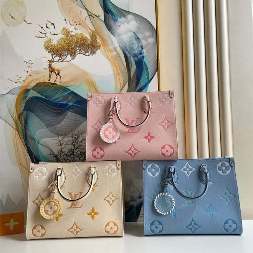 By The Pool-ONTHEGO MM Blue/Beige/Pink