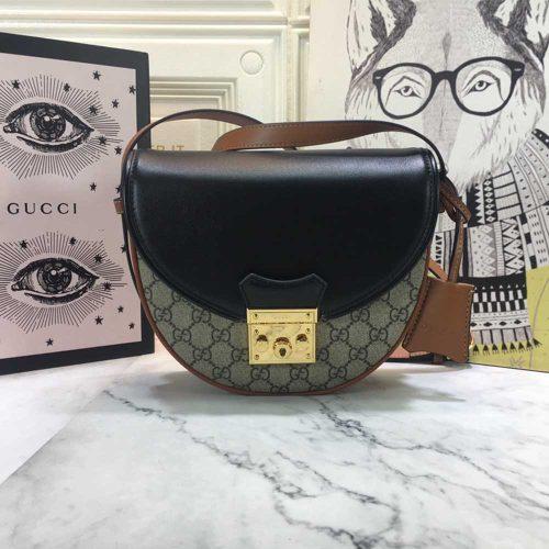 Padlock small shoulder bag 644524
