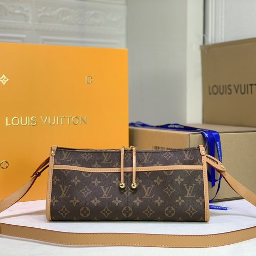 Monogram Popincourt Long Bag M40008