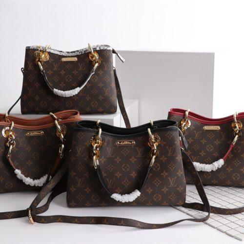Classic Monogram Handle Bag with strap